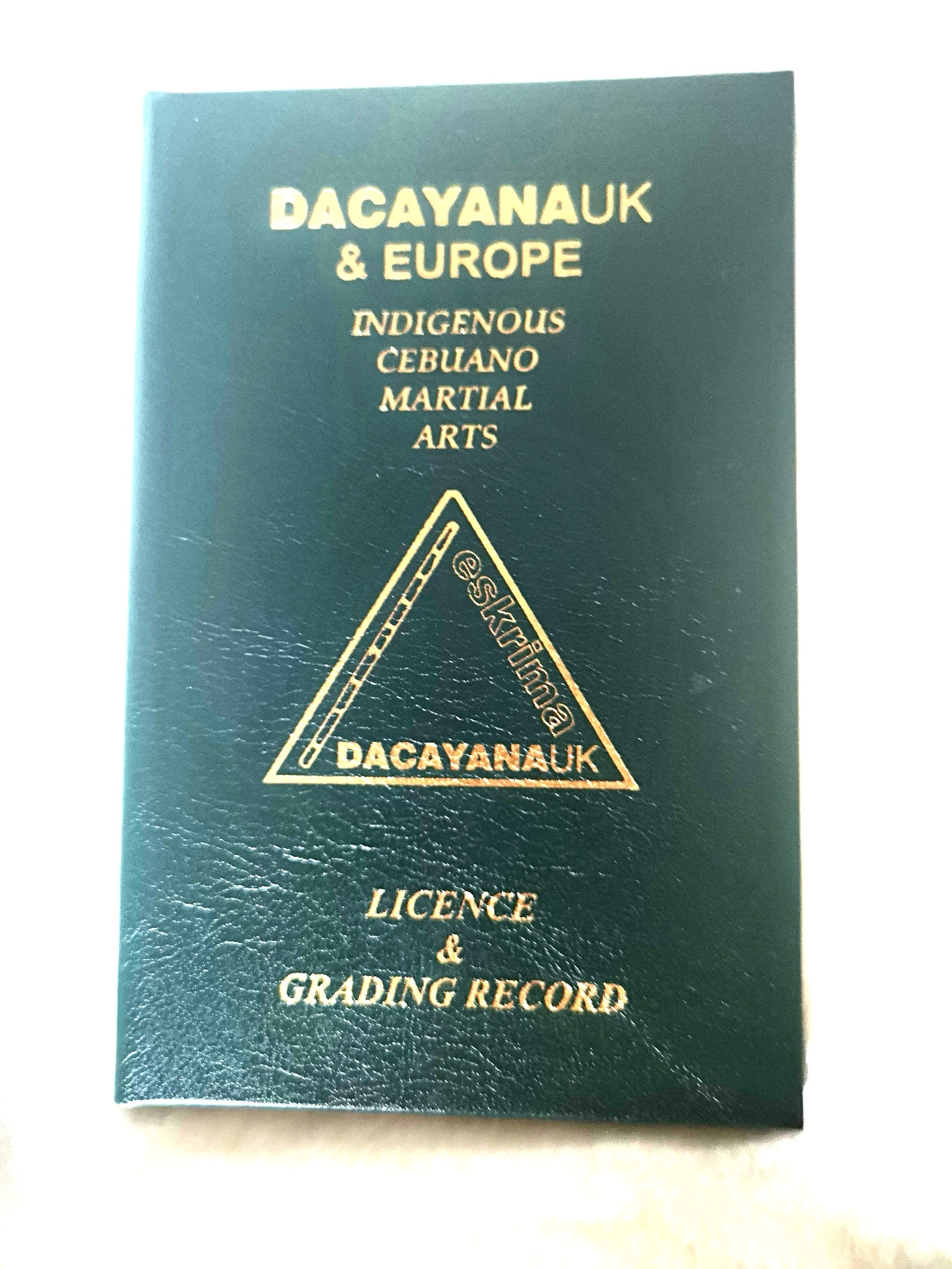 Dacayana Training Licence/Membership